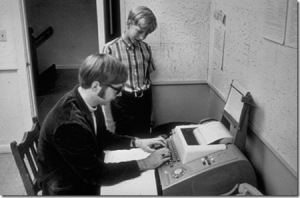 13year old billgates with paulallen